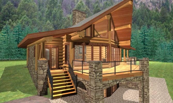 Log Cabin Plans Under Square Feet