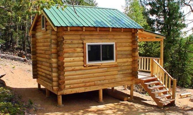 Log Cabin Small Cabins Plans Kits