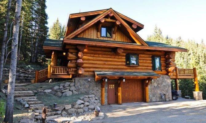 Log Cabins Honeymoon Vacation Spots Pinterest