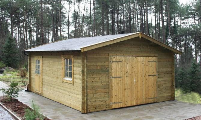 Log Garages Neiltortorella