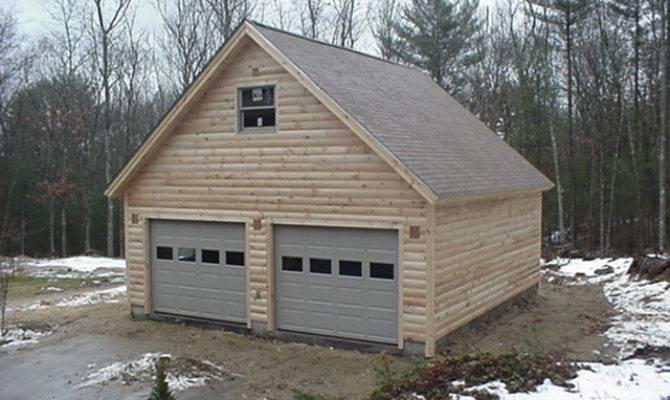 Log Garages