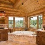 Log Home Bathroom Ideas Our New House Pinterest