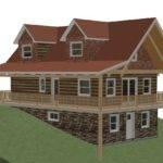 Log Home Building Kits Prefabricated Ezlog Cabin Cottage