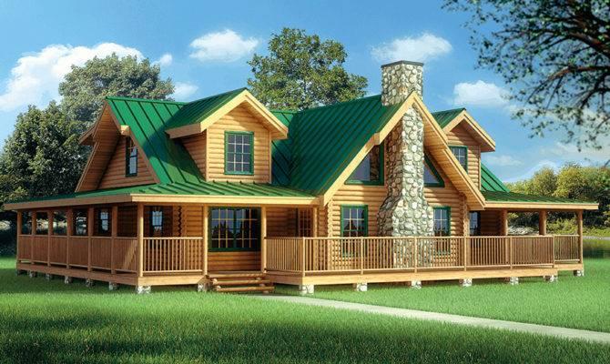 Log Home Cabin Floor Plan Details Hochstetler