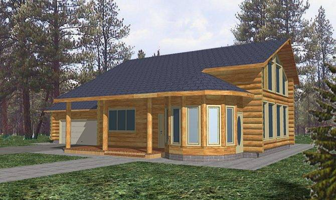 Log Home Design Coast Mountain Homes