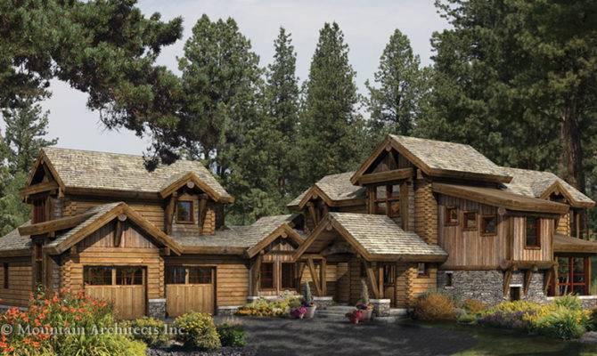 Log Home Design Inspired Lake Tahoe California
