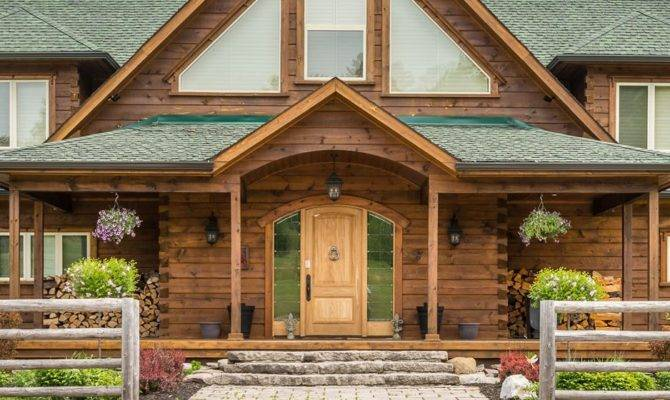 Log Home Designs Ontario Canada House Design Plans