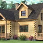 Log Home Floor Plan Bedroom Cape Style