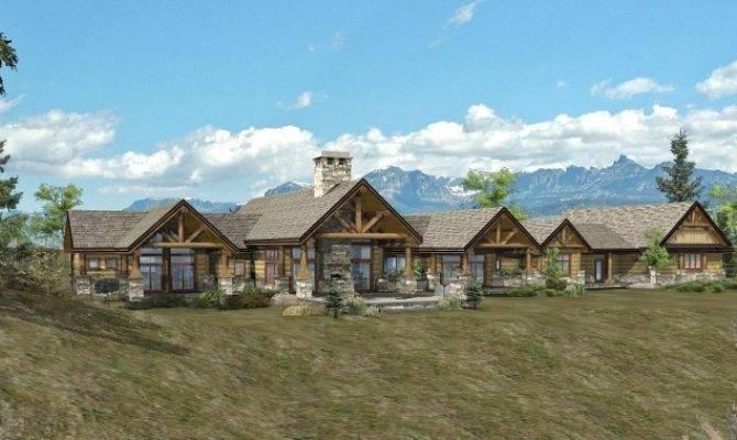 Log Home Floor Plan Bowen Ranch Wisconsin Homes