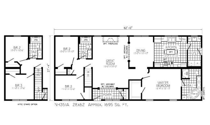 Log Home Floor Plans Ranch Style Fireside Homes