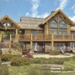Log Home Floor Plans Wisconsin Homes Inc Cheyenne Plan