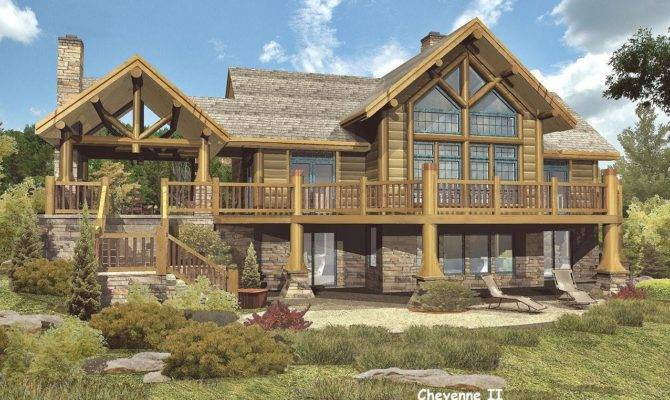 Log Home Floor Plans Wisconsin Homes Inc