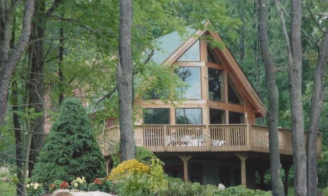 Log Home Model Lake Arthur