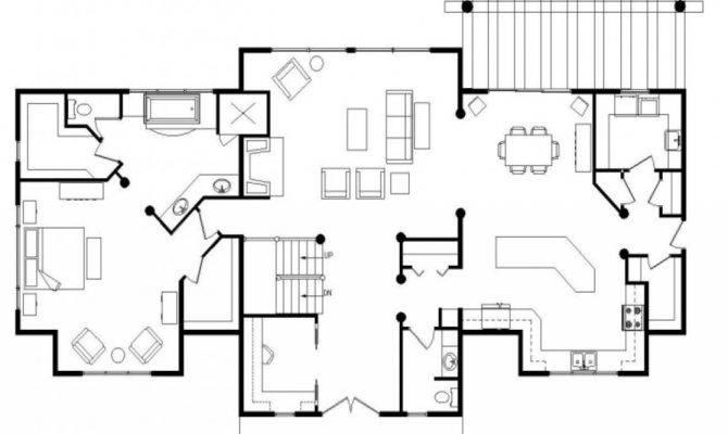 Log Home Open Floor Plan Greatwood Homes Plans