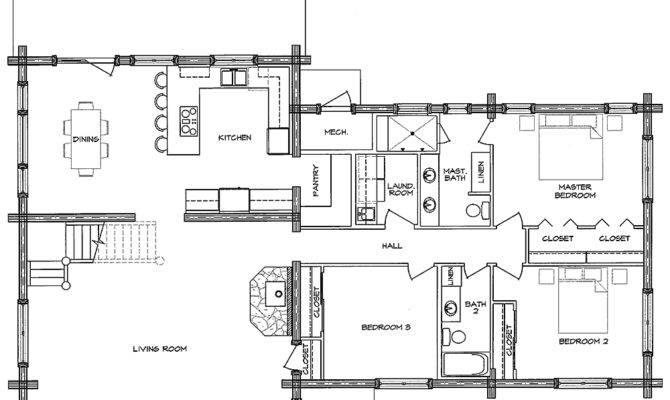 Log Home Open Floor Plans Factory Homes