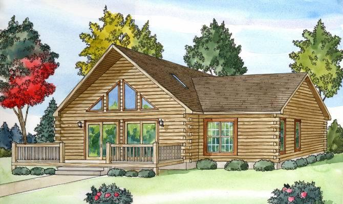 Log Home Plans Custom Build Homes Modular Views