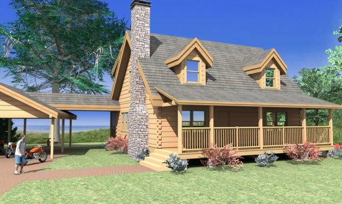 Log Home Plans Custom Timber
