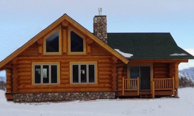 Log Home Plans Loft Cabin Floor Homes