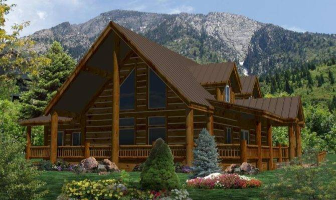Log Home Plans Suwannee River Homes Cabin