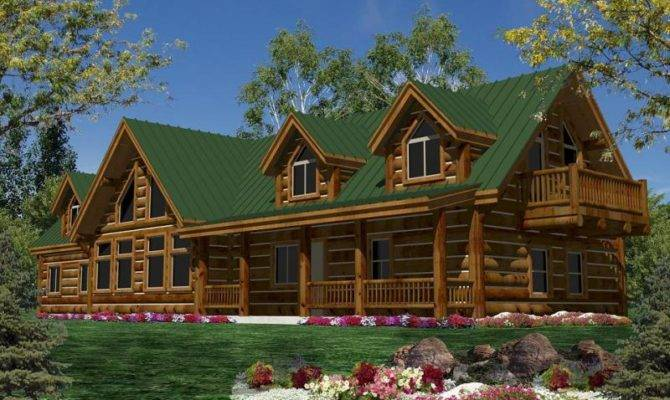 Log Homes Home Floorplans Plans