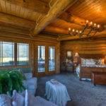 Log Homes Luxurious Living Luxury Master Bedroom