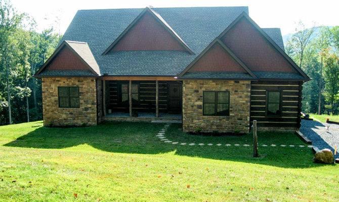 Log Stone Home Plans