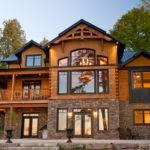 Log Timber Frame Homes Real American Dream