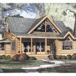 Logan Creek Log Cabin Home Plan House Plans