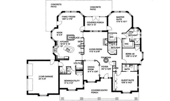 Londondary Luxury Ranch Home Plan House Plans More
