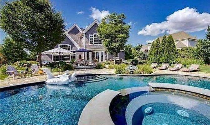 Long Island Homes Sale Ridiculously Nice Pools