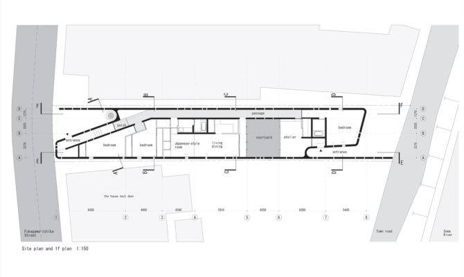 Long Narrow House Plans Floor