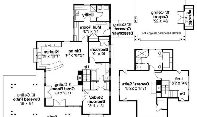 Longview Shingle Style Home Plans Floor Plan