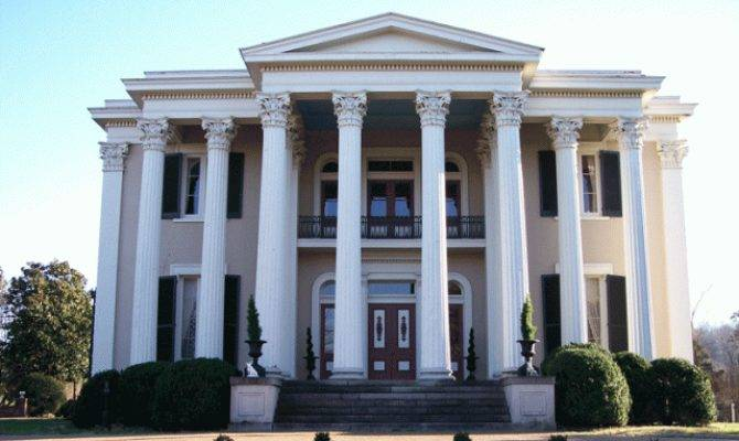Look Architectural Styles Greek Revival