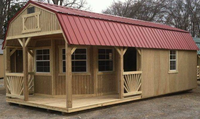 Looking Perfect Cabin Woods Hickory Sheds West