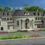Lot Home Plan Addition Narrow House Plans Drive Under Garage