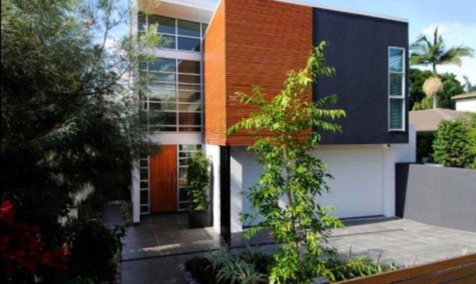 Lot House Plans Narrow Small Design