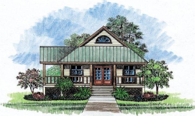 Louisiana House Plans Dog Trot Acadian Style