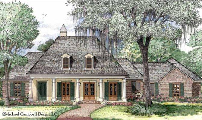 Louisiana Style House Plans Home Designs