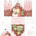 Love Illustrate Gingerbread House