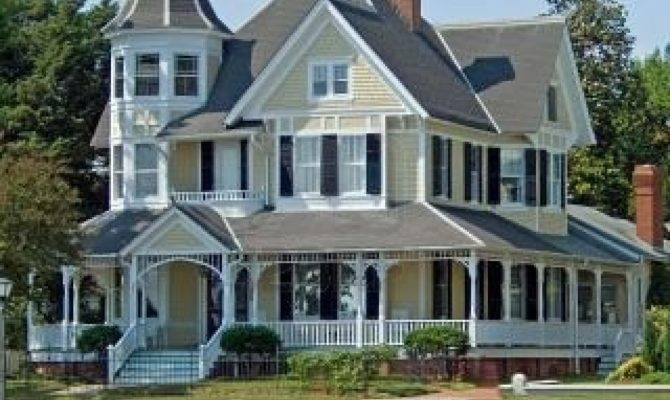 Love Victorian House Wrap Around Porch