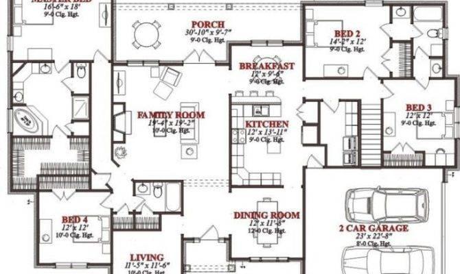 Lovely Bedroom Floor Plans House New Home