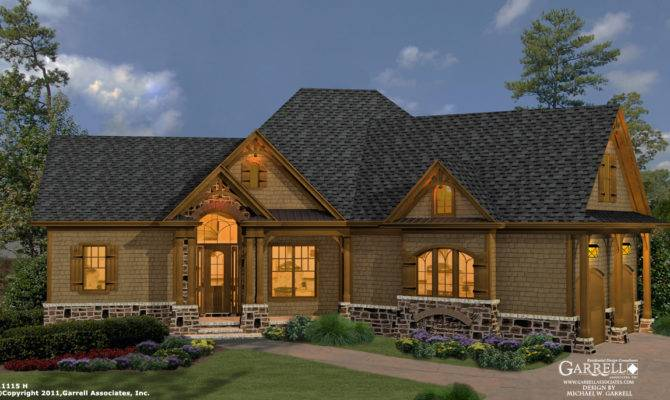 Lovely Cottage Home Plans Mountain Craftsman Style