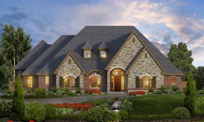Lovely European Style House Plans Beautiful One Story
