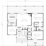 Lovely Floor Plans Beach House Plan
