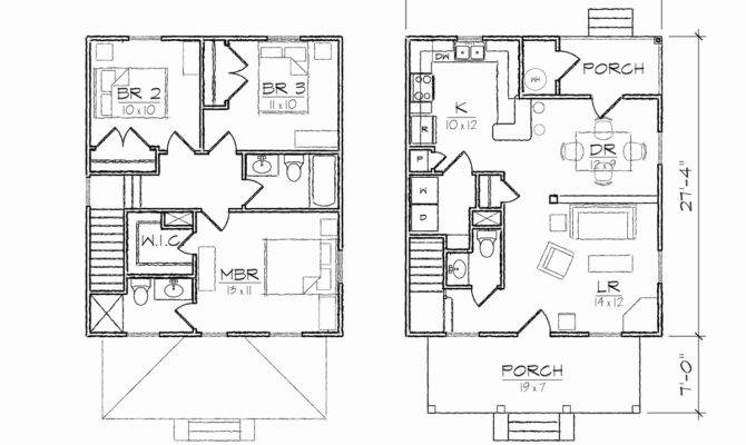 Lovely Four Square House Plan Home Inspiration