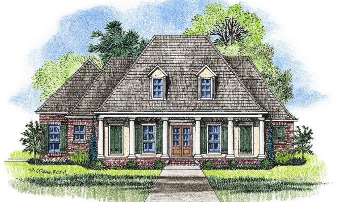Lovely Louisiana Home Plans Acadian Style
