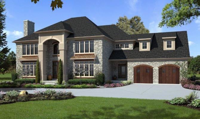 Lovely Modern Colonial House Plans Custom Home Designs