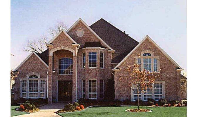 Lovely New American House Plans Style