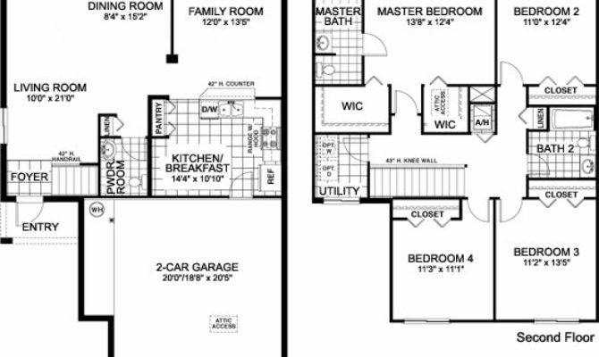 Lovely Single Home Plans One Story