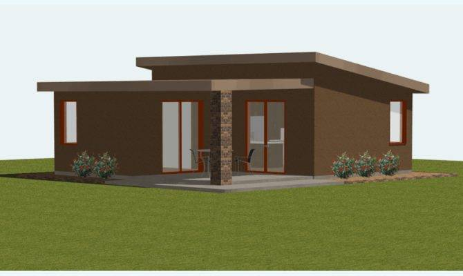 Lovely Small Contemporary Home Plans Modern